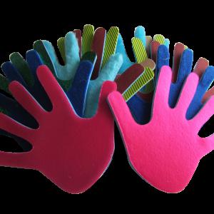 manos con textura